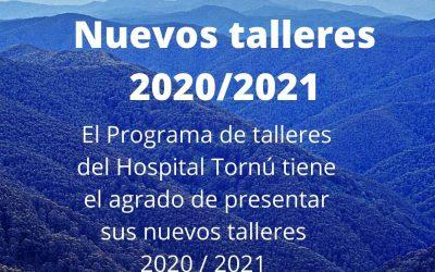 ¡NUEVOS TALLERES 2021!