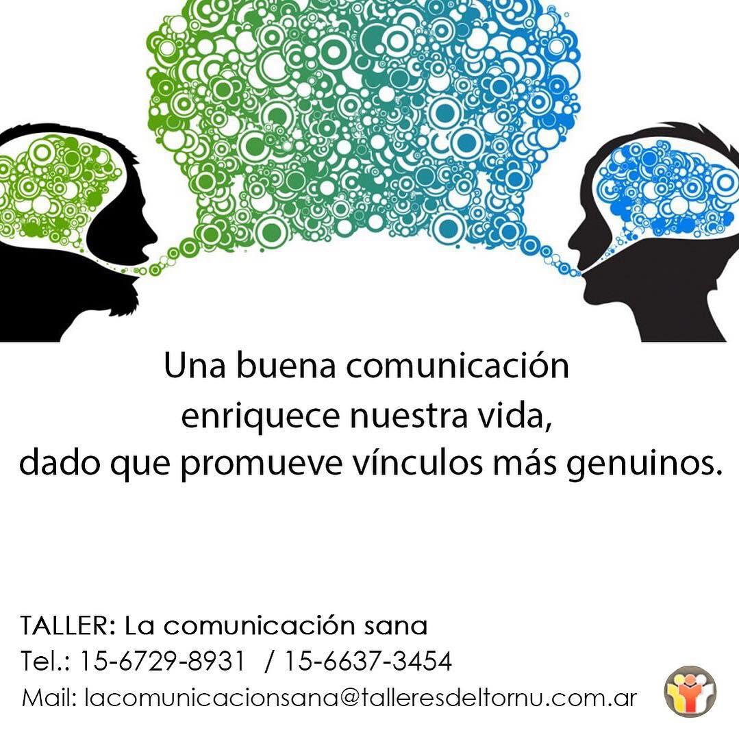 La comunicacion sana-Talleres del Tornu
